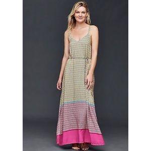 GAP Criss Cross Strap Maxi Dress
